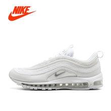 best sneakers 31b76 e7aee Original Nouvelle Arrivée Officielle de Nike Air Max 97 Hommes Respirant  Chaussures de Course Sport Sneakers
