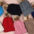Homens e das mulheres Quente malha Gorros chapéus Skullies caps Hemp padrão de cor Sólida forro de algodão Jacquard tecer