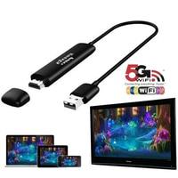 5g hdmi monitor sem fio tv adaptador receptor dlna airplay miracast hdmi wi-fi tv dongle para android ios windows
