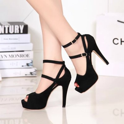 GOXPACER Open toe women pumps female high heels platform women shoes single shoes thin heels open toe female leg bandage цена