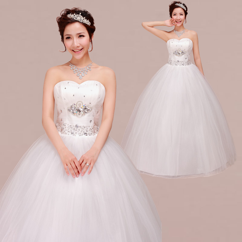 Best Wedding Gown 2015: New Arrival Hot 2015 Bridal Gown Sweet Princess Lube Top