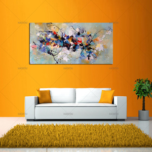Image 3 - Best New Picture Painting Abstract Oil Paintings on Canvas 100%Handmade Colorful Canvas Art Modern Art for Home Wall Decor