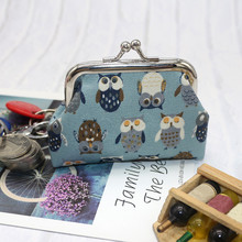 Women's Owl Coin Purse Money Bag 2019 Coin Purse Women Small Wallet Change Card Holder Lovely Coin Purse Clutch Handbag Bag