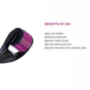 Image 3 - Drs 540 derma roller 0.2/0.25/0.3mm agulhas titanium mezoroller dr caneta máquina para cuidados com a pele cabelo perda tratamento caneta