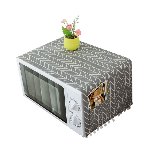 Casa Rivestimenti per forni e microonde Antipolvere Facile Da Pulire Tasche Orga