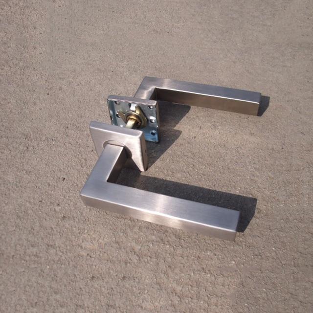 Brand new stainless steel 304 lever door handleinterior door brand new stainless steel 304 lever door handleinterior door lever handlessquare tube planetlyrics Images