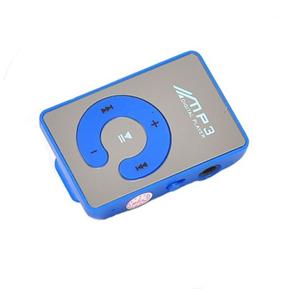 Mirror Portable Sports Waterproof C Button Digital Clip MP3 Player TF Card Mini Music