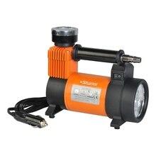 Компрессор автомобильный Sturm! MC8835L (Поршневой безмасляный, прямой привод, рапидное соединение, производительность 35 л/мин, рабочее давление 10 бар, воздушное охлаждение, встроенный манометр)