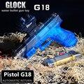 G18 ZUANLONG Marca Quente Arma de Brinquedo Eletrônico ABS Água Cristal bala Glocky Nerfi Armas Pistola Carabina Arma Brinquedos para Crianças Melhor presentes