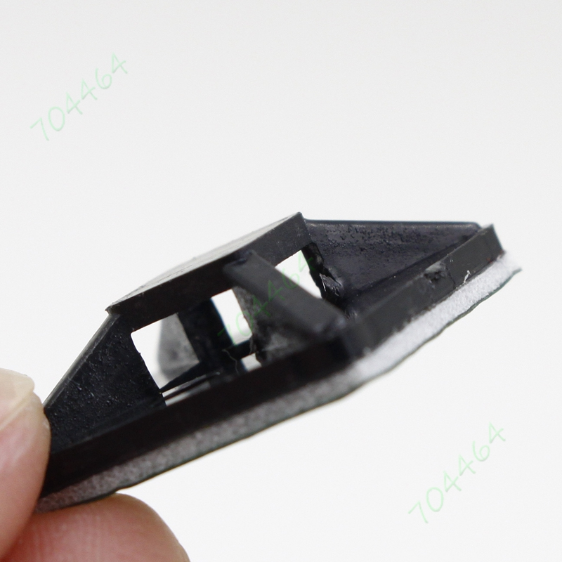 500 шт./лот 20 мм х 20 мм оптовая кабеля базы самоклеющиеся опираясь липкий нейлон крепления крепления черный