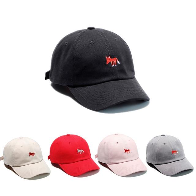 299f75eba41c5 New Hip Hop Snapback Caps Embroidered Animal Fox dad Hat Men Baseball Caps  Bone Casquette Sun Visor Hat
