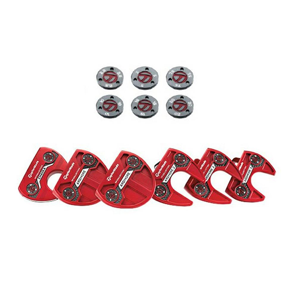 Golf Putter Screw Weight Golf Club Counterweight Screw For Taylormade TPCollection Red Putter Counterweight Golf Accessories5-20