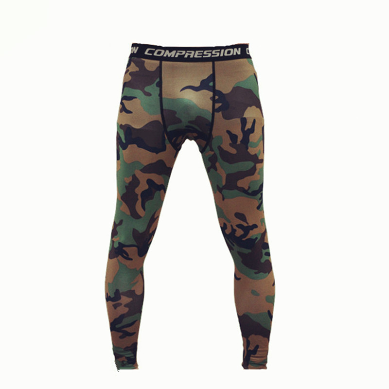 Camouflage Pants Men Military Leggings Fitness Joggers Sweat Pants Compression Pants Male Army Trousers Pantalon Homme Tights