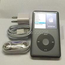 Gris 7.5th pple iPod Classic séptima Generación 160 GB (Último Modelo) Versión 2.0.5 firmware envío gratis