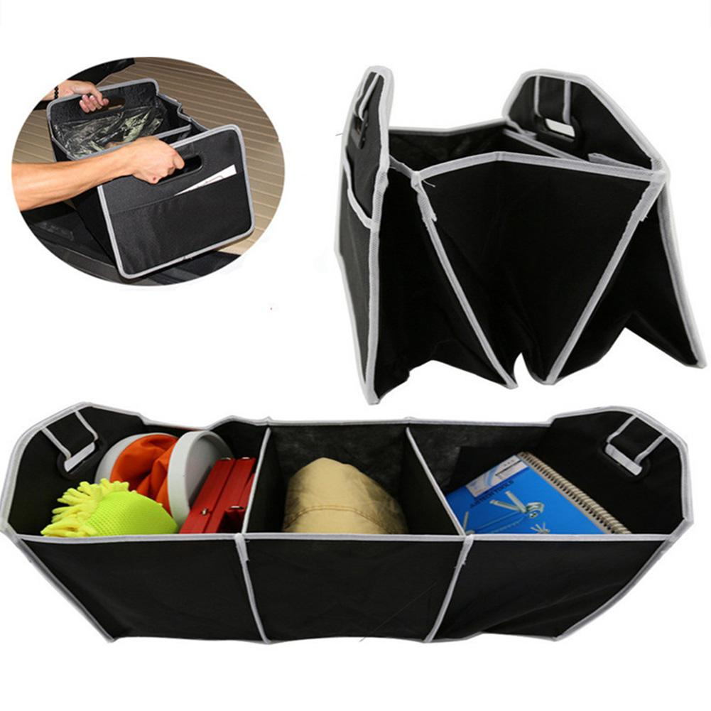 Image 3 - Adeeing Foldable Car Trunk Organizer Bag Truck Van SUV Storage Basket Auto Tools Portable Multi Compartment Organiser r30-in Stowing Tidying from Automobiles & Motorcycles