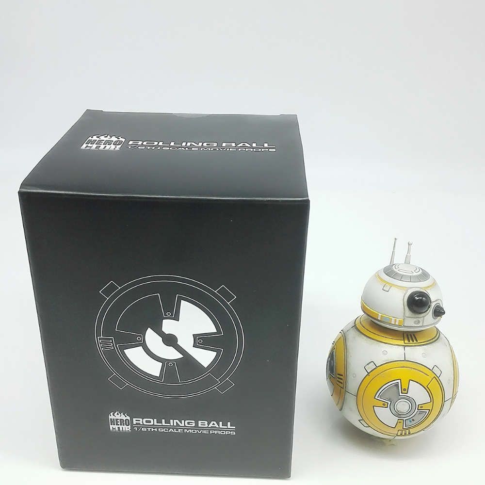 BB-8 Can Walk Disassembly Darth Vader PVC Model Action Figure With Box Clone Trooper Toys Christmas Gifts New Year's  For Kids new hot 17cm avengers thor action figure toys collection christmas gift doll with box j h a c g
