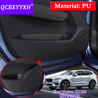 QCBXYYXH Car Styling Protector Side Edge Protection Pad Protected Anti Kick Door Mats Cover Accessories For