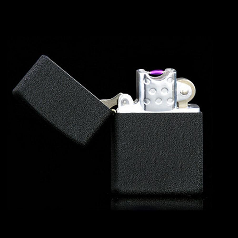 Encendedor de cigarrillos Cigarro USB Alumbrador electrónico Recargable Sin Llam