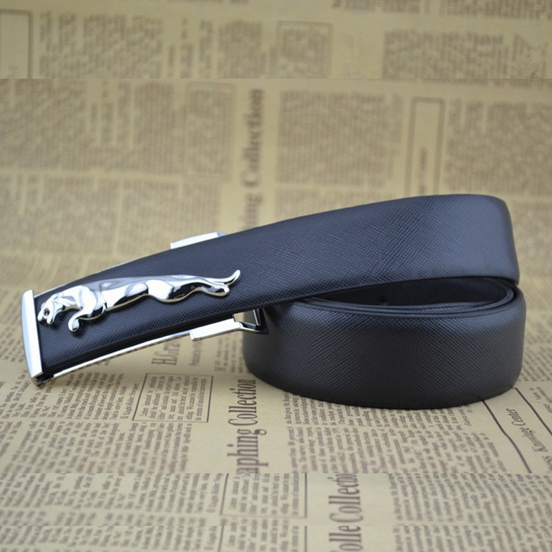 Original El Barco Plaid Leather Belt Men High Quality Cowhide Male Casual Belts Black Coffee Luxury Designer Strap Leopard Horse Buckle Back To Search Resultsapparel Accessories