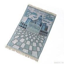 New イスラム教徒の祈りマットサラッ Musallah 祈りの敷物じゅうたんカーペット Tapete Banheiro イスラム祈る 70*110 センチメートル
