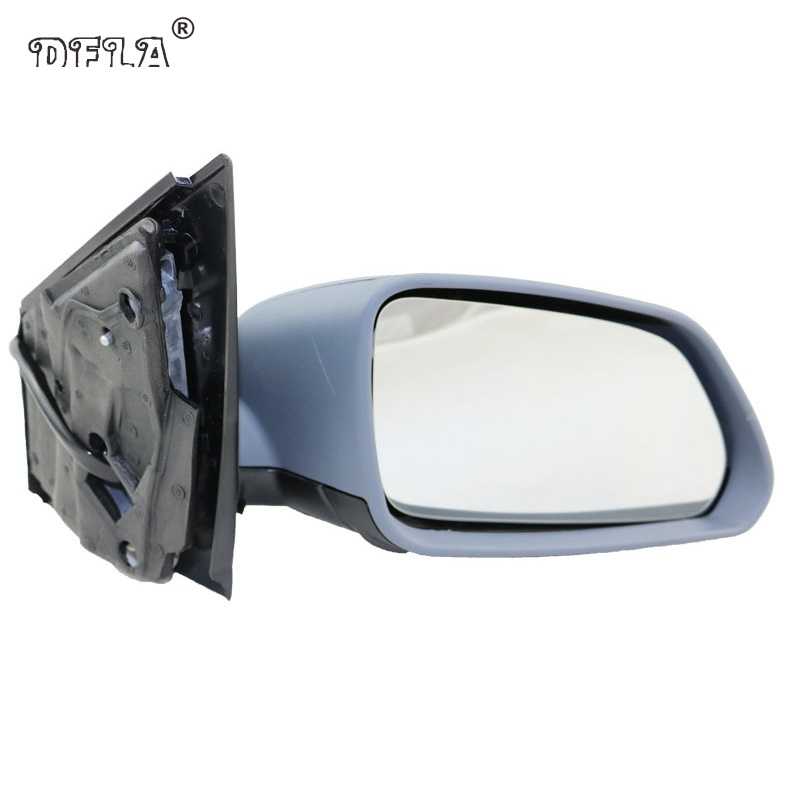 For VW Polo 2005 2006 2007 2008 2009 2010 Car-Styling Heated Electric Wing Side Rear Mirror Right Passenger Side red left right car rear side tail light brake lamp light for toyota hilux 2005 2006 2007 2008 2009 2010 2015 lh rh