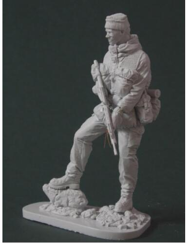 1/16 120mm Falklands War Soldier 120mm With Base  Resin Model Miniature  Figure Unassembly Unpainted