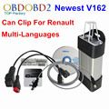 2017 For Renault Can Clip Full Chip Professional Diagnostic Tool V164 Multi-Languages Supported Can Clip Free Shipping