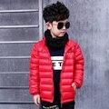 Pioneer niños niños down jacket venta superior regular para los muchachos de la chaqueta nueva Ultra Light Niños Abajo y Abrigos Esquimales marca muchachos de la chaqueta