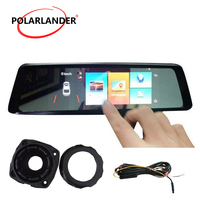 A10 7 DVR Rearview Mirror GPS WiFi MP5/MP4/RMVB Bluetooth 4G Android FM Transmission Touch Screen Camera Video Drive Recorder