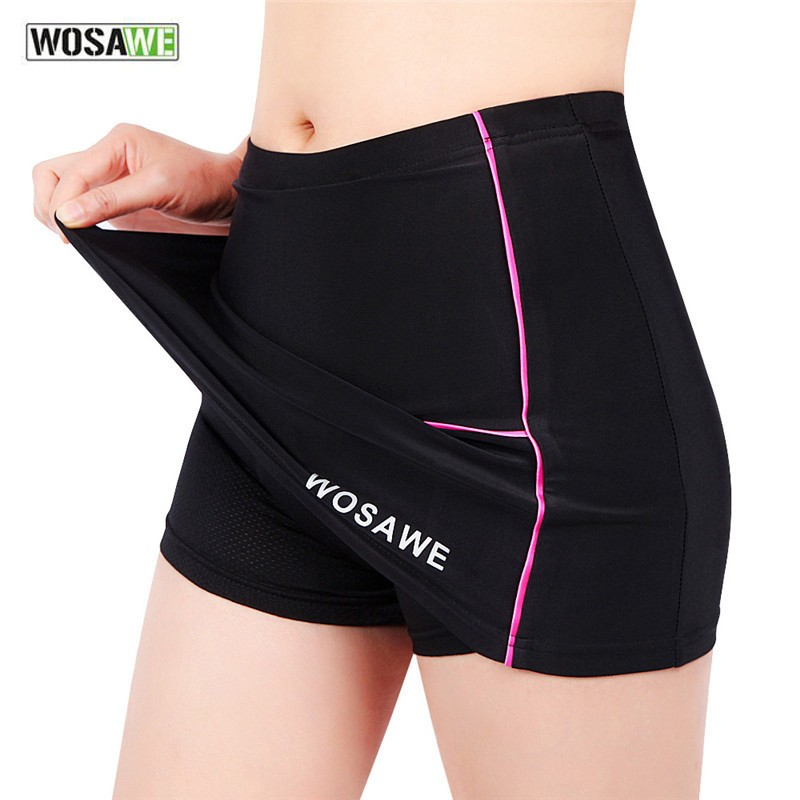 Новинка, женские велосипедные шорты, юбки, 4D гелевые черные трусы, велосипедное дышащее нижнее белье, велосипедные шорты, юбки