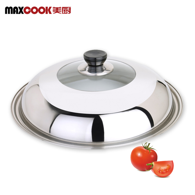 visual kitchen pot lid tempered glass cover large nonstick saucepan skillet stainless steel wok
