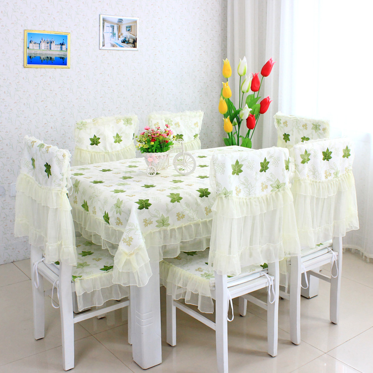 chair cushion dining chair set cushion tablecloth chair covers table
