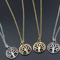 2016 Tree Of Life Pendant Necklace  Best Selling  Silver 18inch perfect gift wife girlfriend women wedding Valentines Day XL142
