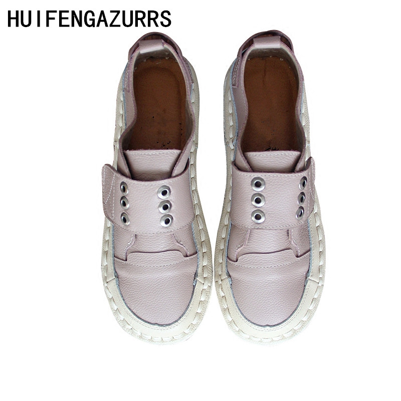 HUIFENGAZURRS-New Type Baggage Artistic Leather Shoes, Low Upper  Single Shoes,Stick Handmade Softsoles, Japanese-tied ShoesHUIFENGAZURRS-New Type Baggage Artistic Leather Shoes, Low Upper  Single Shoes,Stick Handmade Softsoles, Japanese-tied Shoes