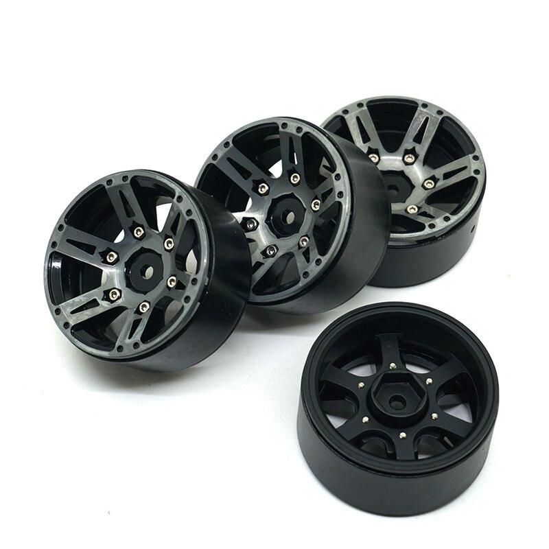 Rock Crawler Wheels : Pcs inch beadlock wheel rims rock crawler car