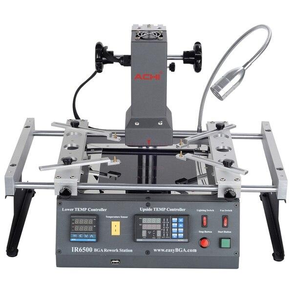 Vendita calda ACHI IR6500 BGA Macchina di Saldatura Stazione di Rilavorazione BGA sistema di riparazione della macchina