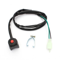 Universal Motorcycle Kill Stop Switch Horn Button for Motorcycle Pit Quad Bike 22mm 7/8 3