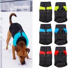 Colete de cachorro impermeável, roupa para cachorro de estimação, jaqueta chihuahua, casaco para cães pequenos, médios e grandes, 4 cores s-5XL
