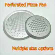 GREAT6.5/7.5/9/10/11/12/16 Inch Perforated Pizza Pan, Pizza Hut, Pizza Stone, Mold for Pizza, Baking Accessories, Baking Tray цена и фото