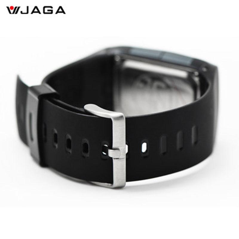 JAGA ժամացույցներ անջրանցիկ LED - Տղամարդկանց ժամացույցներ - Լուսանկար 3