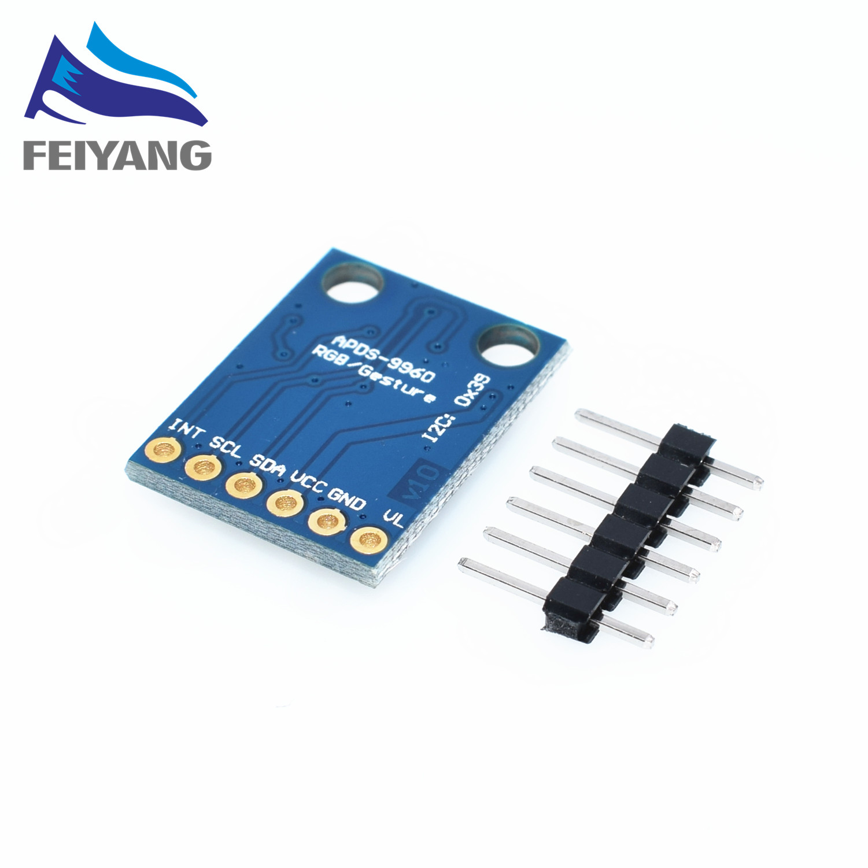 10 шт. GY-9960-3.3 APDS-9960 близость обнаружения и бесконтактный обнаружения жест RGB и жест APDS9960