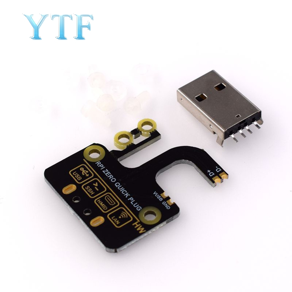 Raspberry Pi Zero W Micro USB To Type A USB Adapter Board Expansion