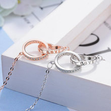 Женское Ожерелье в форме сердца и круглой формы Круглый чокер