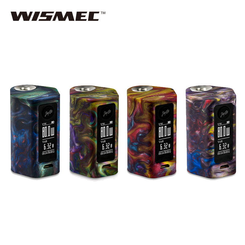 Hot Original 80W WISMEC Reuleaux RXmini RESIN TC MOD 2100mAh Built-in Battery Huge Vaping rxmini rxsin Electronic Cigarette Mod metal spur gear for hsp pangolin redcat everest 10 upgrade parts 18024 upgraded rc 1 10 rock crawler climber 94180
