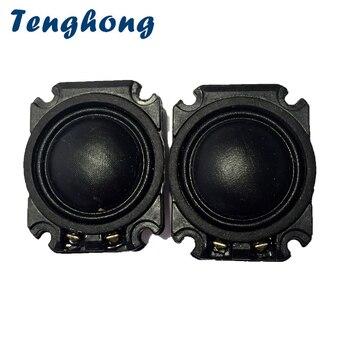 Tenghong 2pcs 1 Inch Tweeter Silk Film Treble Speakers 4/8Ohm 10W Portable Audio Speaker Unit For Home Theater Car Loudspeakers