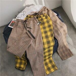 Image 5 - LAPPSTER נשים Streetwear משובץ מכנסיים 2020 Harajuku גבוה מותן רצים קוריאני סגנון מכנסי טרנינג גבירותיי סתיו מכנסיים בתוספת גודל