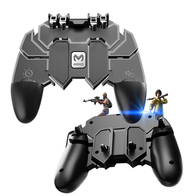 Mobile Controller PUBG gamepad joystick r1 l1 Shooter game joypad r1l1 Compatible phone 4.5-6.5 inch for iPhone android xiaomi