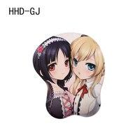 HHD-GJ Japonês anime Kashiwazaki Sena 3D Macio Big Mama mouse pad mat mesa da menina Cosplay