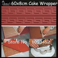 Bricks shaped silicone mold for cake wrapper decoration,DIY Chocolate Cake Wrapper Mold,Fondant Cake Decorating Tools
