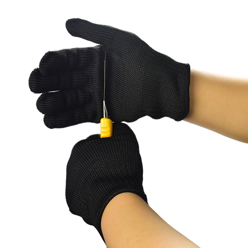 Gloves Proof Protect Stainless Steel Wire Safety Gloves Anti-Cut Gloves Metal Mesh Butcher Anti-cutting Breathable Work Gloves